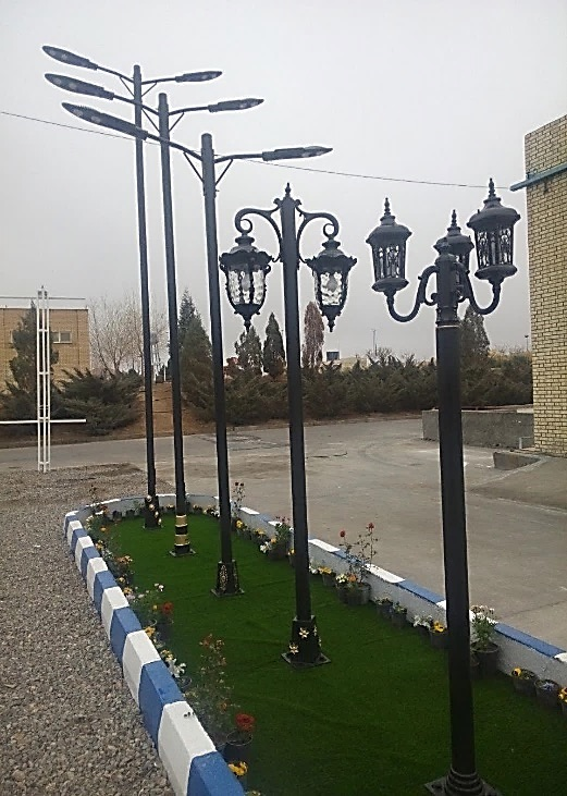 پایه روشنایی خیابانی