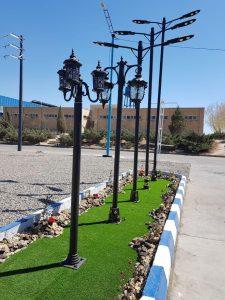 پایه های روشنایی - پایه روشنایی - پایه پارکی