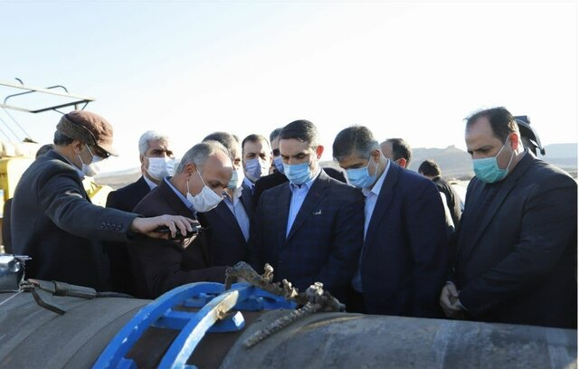عملیات اجرایی قطعه دو آبرسانی به شهر ساوه