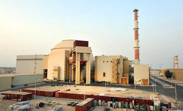 د برق از نیروگاه اتمی بوشهر