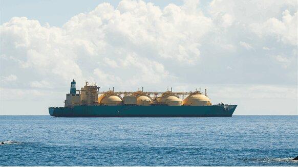 صادرات LNG