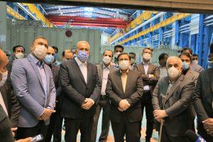 ساخت بزرگترین ترانسفورماتور نیروگاهی با سیستم خنک کنندگی ODAF