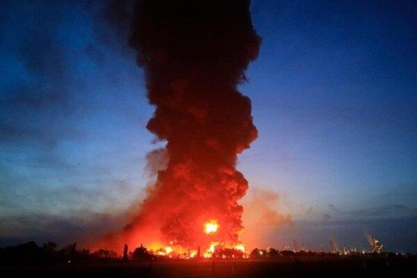 آتش سوزی گسترده