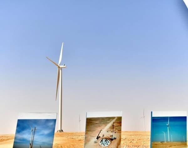 نخستین نیروگاه بادی عربستان