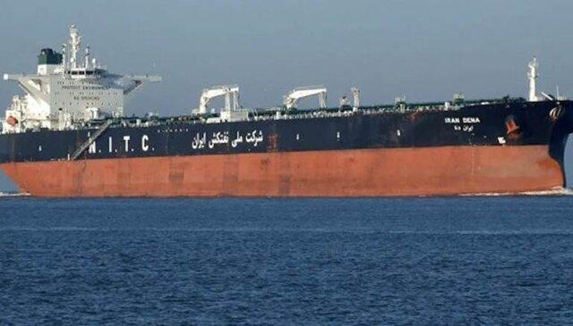 سومین نفتکش ایرانی درحال حرکت به سمت لبنان - مهرشید نیرو •